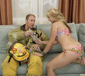 Sarah Vandella Fucks the Uniform Off a Fireman 22