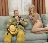 Sarah Vandella Fucks the Uniform Off a Fireman 23