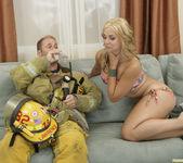 Sarah Vandella Fucks the Uniform Off a Fireman 24