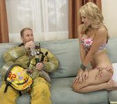 Sarah Vandella Fucks the Uniform Off a Fireman 25