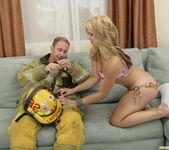 Sarah Vandella Fucks the Uniform Off a Fireman 26
