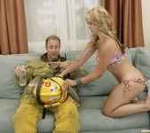Sarah Vandella Fucks the Uniform Off a Fireman 27