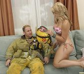 Sarah Vandella Fucks the Uniform Off a Fireman 28