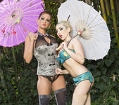 Tory Lane and Christie Stevens Wander in the Woods 2