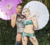 Tory Lane and Christie Stevens Wander in the Woods 4