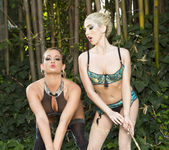 Tory Lane and Christie Stevens Wander in the Woods 9