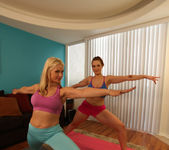 Sarah Vandella and Siri - Giggle, Sweat and Lick 2