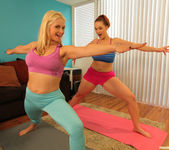 Sarah Vandella and Siri - Giggle, Sweat and Lick 3