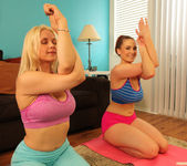 Sarah Vandella and Siri - Giggle, Sweat and Lick 21