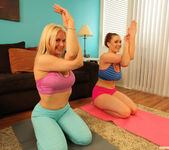 Sarah Vandella and Siri - Giggle, Sweat and Lick 23
