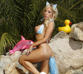Tasha Reign's Butt Plug Goes to the Beach 28