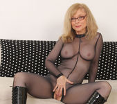 Nina Hartley - Full Body Pantyhose and Face Sitting 13