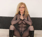Nina Hartley - Full Body Pantyhose and Face Sitting 15