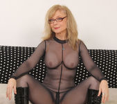Nina Hartley - Full Body Pantyhose and Face Sitting 16