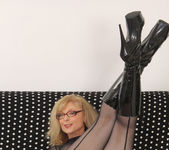 Nina Hartley - Full Body Pantyhose and Face Sitting 19