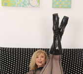 Nina Hartley - Full Body Pantyhose and Face Sitting 21