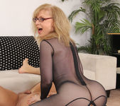 Nina Hartley - Full Body Pantyhose and Face Sitting 25