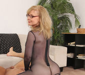 Nina Hartley - Full Body Pantyhose and Face Sitting 27