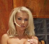 Fantastic Blonde Monica Star Shows Off Hot Body 10