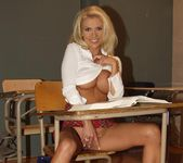 Gorgeous School Girl Monica Star Receives A Lesson 14
