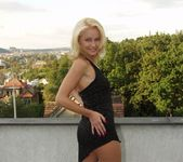Beautiful Blonde Maria Strips For Us 7