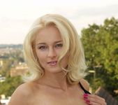 Beautiful Blonde Maria Strips For Us 12