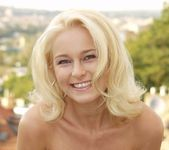 Beautiful Blonde Maria Strips For Us 17