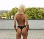 Beautiful Blonde Maria Strips For Us 25