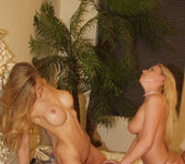 Two young Blondes get a taste of Peter North 16