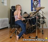 Christine Plays With Her Dildo 2