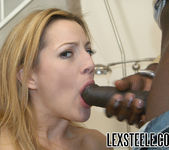 Holly Wood Sucks On Lex Steele's Meat Rod 23