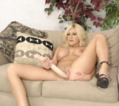 Stacy Thorn Breaks Out The Dildo 21