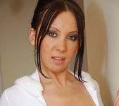Stunning Brunette Beauty Isabella Shows Her Wonderful Tits 5