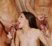 Selena Silver takes on six guys and goes wild... 6