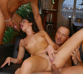 Lucy Lee gets fucked by 2 hung dudes 19