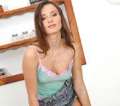 Perky Young Babe Lola Performs A Sexy Strip Tease 12