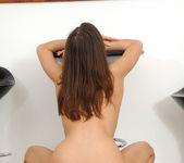 Perky Young Babe Lola Performs A Sexy Strip Tease 29