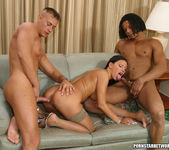 Lisa stars in some very hot threeway action 9