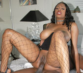 Massive Chested Black Babe Carmen Hayes Gets Tit Fucked And 24