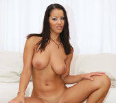 Angel Dark Gets Her Holes Filled Simultaneously 14