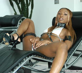 Lexington Steele Slame Desiree's Tight Black Pussy 22