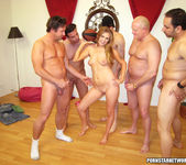 Innocent Young Chrissy Caine Gets Her Face Creamed 9