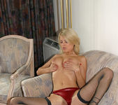 Beautiful Blonde Jasmine Rouge Never Had A Chance 13