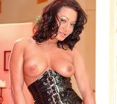 Busty Sandra Romain gets every possible hole stuffed 2