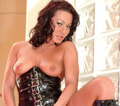Busty Sandra Romain gets every possible hole stuffed 4