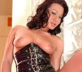 Busty Sandra Romain gets every possible hole stuffed 7