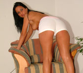 Beautiful Simone Peach, the expert multi-tasker 12