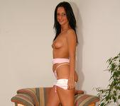 Beautiful Simone Peach, the expert multi-tasker 14
