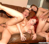 Redhead Slut Gets Double Parked 14