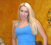 Jessica Woods Swallows Big Cum Load 3